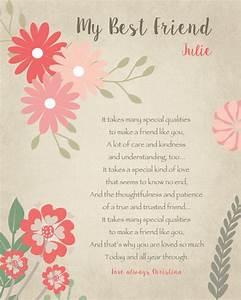 Persönliche Geschenke Beste Freundin : beste freundin geschenk pers nliches geschenk f r einen friendship geschenk beste freundin ~ Orissabook.com Haus und Dekorationen