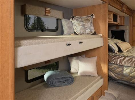 class c motorhome with bunk beds 2016 fleetwood rv discovery 40g class a motorhome