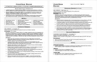 hr resume advice hr generalist resume sle