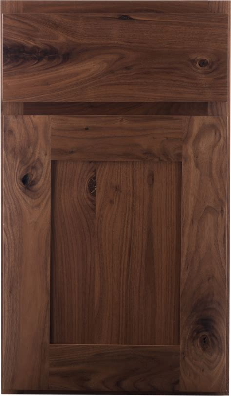 crown cabinets bigcreek knotty walnut natural walnut