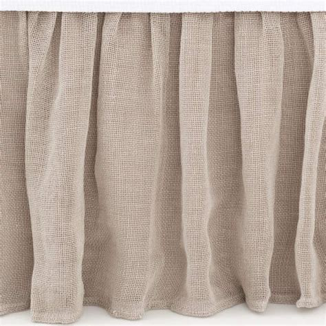 Linen Mesh Bed Skirt By Pine Cone Hill Rosenberryroomscom