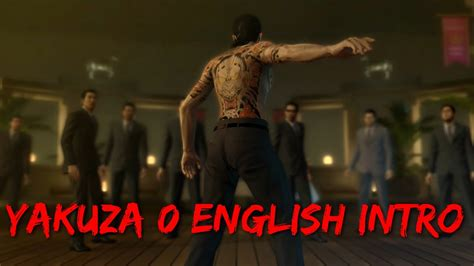yakuza  english intro youtube