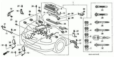 1994 Honda Civic Wiring Harnes by Engine Wire Harness Honda Oem Parts 1997 Honda Civic