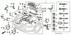 Engine Wire Harness Honda Oem Parts