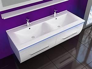 Waschbeckenschrank Mit Waschbecken : weiss 120 cm badm bel set waschbecken spiegel 70 cm und ablage vormontiert badezimmerm bel ~ Eleganceandgraceweddings.com Haus und Dekorationen