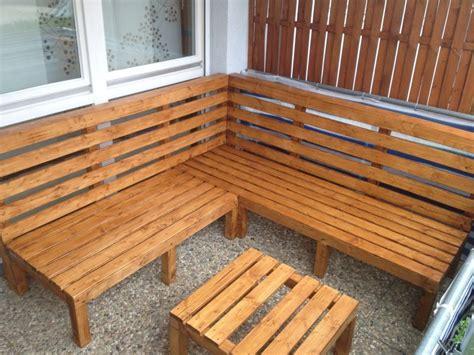Sitzecke Balkon Selber Bauen by Outdoor Lounge Selber Bauen Bauanleitung Zum Selberbauen
