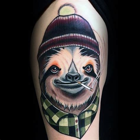 70 Sloth Tattoo Designs For Men Ink Ideas To Hang Onto Interiors Inside Ideas Interiors design about Everything [magnanprojects.com]