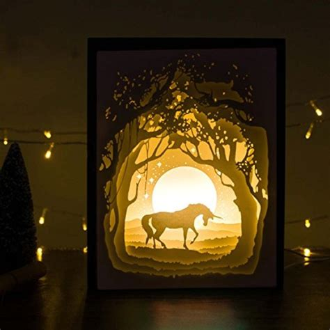 paper cut light box 20 unicorn gifts sure to make you and your loved one smile