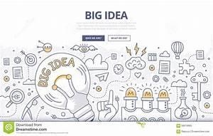 Big Idea Doodle Concept stock vector. Illustration of ...