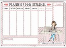 Planificadores Semanales – Miss Garabatos