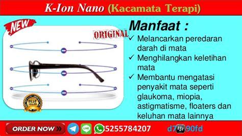 wa  gambar kacamata kesehatan ion nano  link