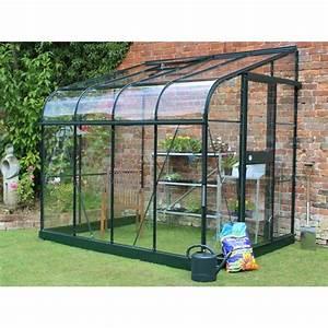 Kit Serre De Jardin : serre de jardin adoss e silverline 4 8 m verre tremp ~ Premium-room.com Idées de Décoration
