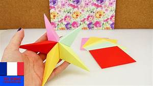 Comment Faire Une étoile En Papier : faire soi m me une toile en origami id e diy de ~ Nature-et-papiers.com Idées de Décoration