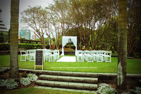 Garden Decoration Brisbane by Weddings At Roma Parklands Brisbane Wedding