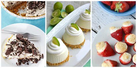 easy summer desserts 57 easy summer desserts best recipes for frozen summer dessert ideas