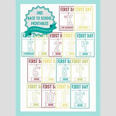 New Back To School Printable Signs  I Heart Nap Time
