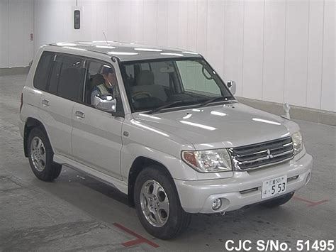 mitsubishi pajero io 2006 mitsubishi pajero io pearl for sale stock no 51495