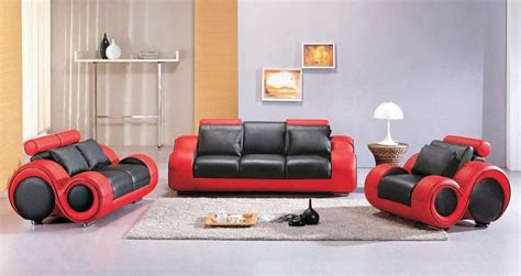 red and black sofa set contemporary black and red leather sofa set atlanta