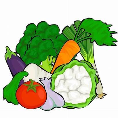 Vegetables Clipart Veggies Lots Cliparts Clip Fruits