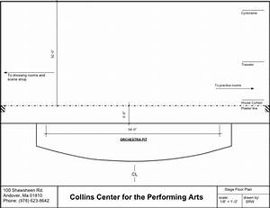 Collins Center  Stage Diagram