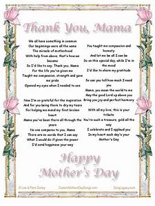 6 Thank You Mama Flowers And A Song For Mother 39 S Day