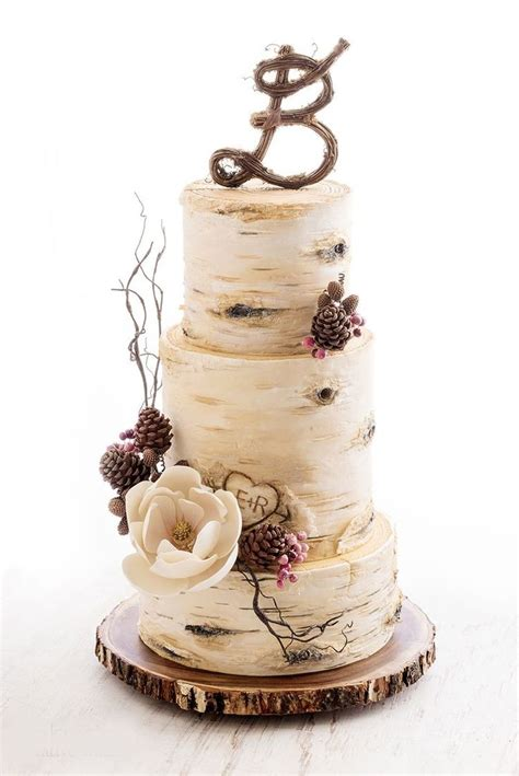 Top 25 Best Tree Wedding Cakes Ideas On Pinterest Birch