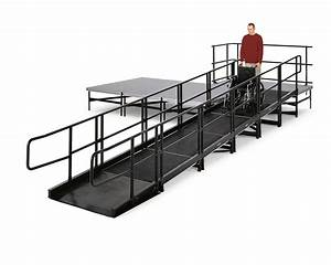 Ada Compliant Stage Access Ramp