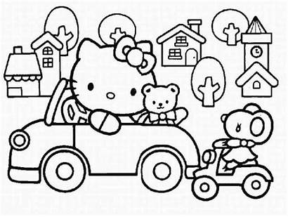 Kitty Hello Coloring Pages Printable 2021 Calendar