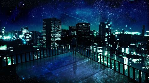Anime Wallpaper - anime city wallpapers wallpaper cave