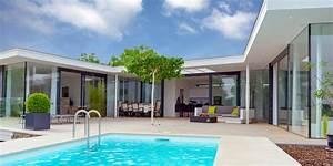 Bungalow Mit Pool : architekt meese ~ Frokenaadalensverden.com Haus und Dekorationen