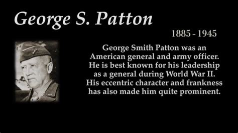george  patton top  quotes youtube