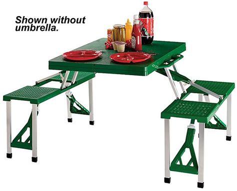 folding picnic table with umbrella folding picnic table with umbrella woodworking projects