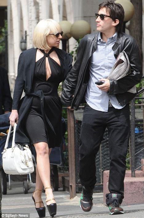 lady gaga shows   latest accessory   man