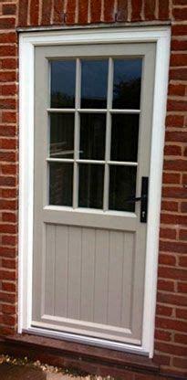 Wood Back Door With Window by Grey Upvc Back Door Search 1930s Reved In