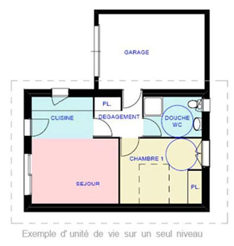 tableau cuisine handicap dans maison plan pour maison adaptée à personne