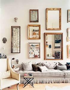 Grand Cadre Deco : grand miroir vintage utiliser dans la d coration 20 id es ~ Teatrodelosmanantiales.com Idées de Décoration