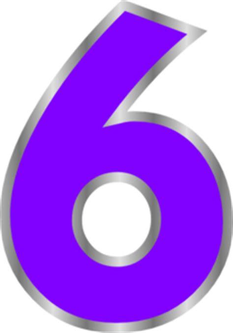 angka warna clip art  clkercom vector clip art
