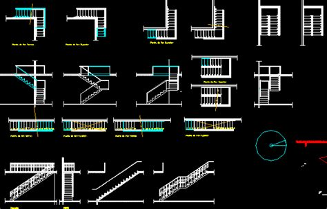 stairs drawings in autocad cad 351 5 kb bibliocad