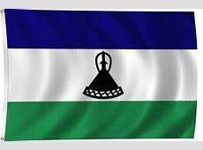 Flag of Lesotho, 2011 ClipPix ETC Educational Photos