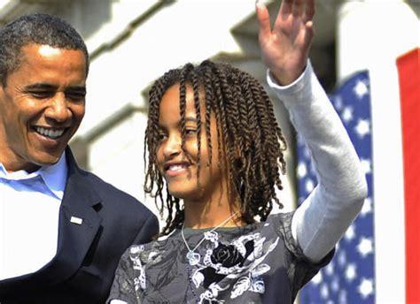 malia obama  black beauty     proudly wears