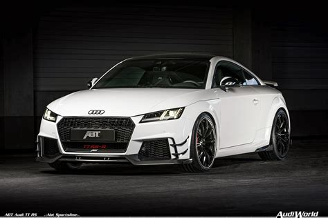 best audi tt rs the 2018 abt audi tt rs and limited edition abt audi tt rs