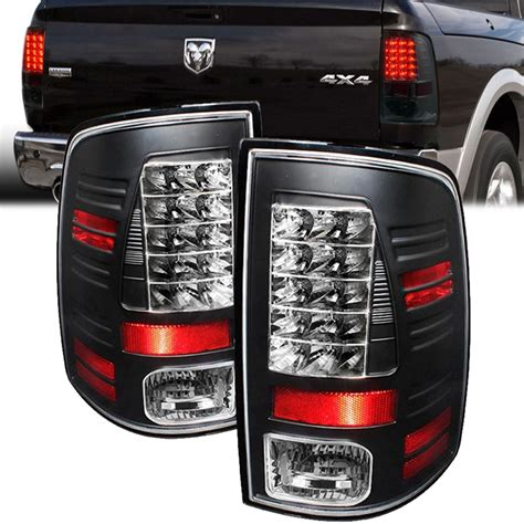 dodge ram tail lights spyder 09 15 dodge ram truck factory led model