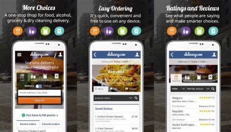 application android cuisine 10 best android and ios apps for food delivery