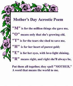 Happy Mother's Day Cards, Wishes and Poems 2015