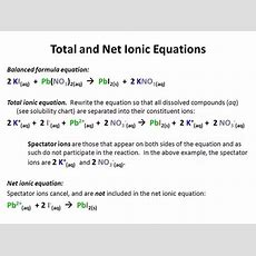 How Can The Net Ionic Equation For Hcl And Naoh Be Determined? Quora