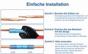Kabel Reparatur Set Unterputz : eventronic 200pcs 10 22 awg insulated kabelverbinder ~ A.2002-acura-tl-radio.info Haus und Dekorationen