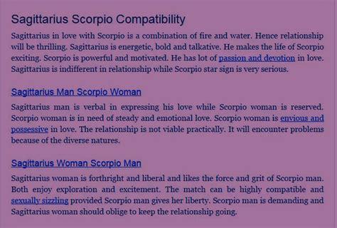11 quotes about scorpio sagittarius relationships