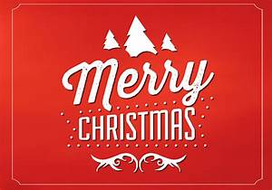 Red Merry Christmas Vector Background - Download Free ...  Merry