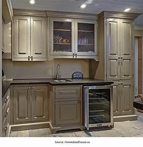 repeindre meuble de cuisine sans poncer 9 cuisine en With peindre des armoires en bois