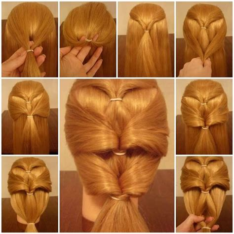 steps to style hair make stylish hairstyle in 5 minutes fashion style 8879